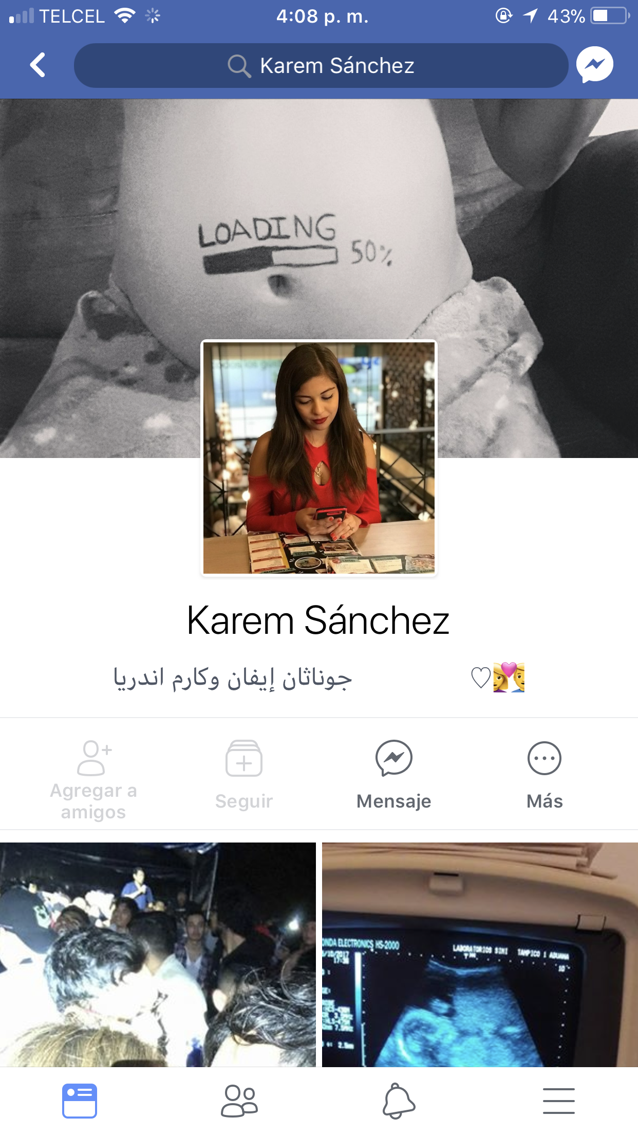 Karen Sanchez. Flaca tetona con sus nudes expuestos. 1