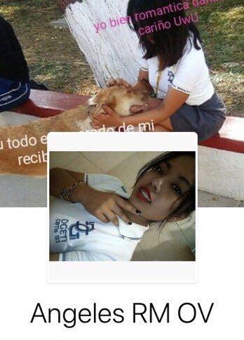 Ángeles RM, chica de prepa y su Pack con fotos de sus ricas tetas.! 1