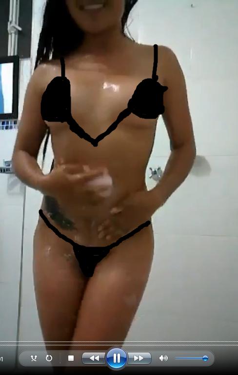Pack para el novio bailando desnuda mientras se baña.! Video XXX 1
