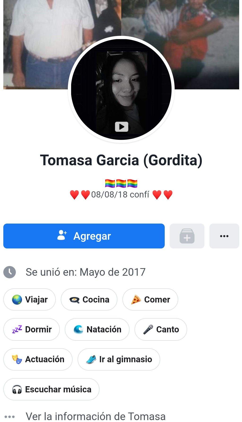 Pequeña Tomasa G y sus videos calientes. 1