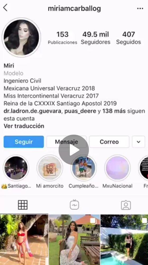 Mexicana Miriam Carballo y su filtrado pack con video xxx. 1