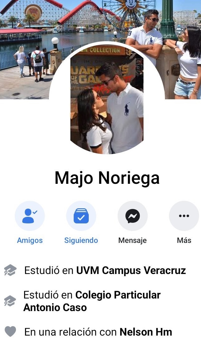 Morrilla Majo Noriega y su mini pack de nudes cachondas. 1